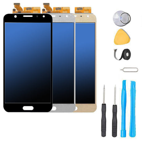 Samsung Galaxy J7 Pro Screen Replacement LCD OLED Repair Kit 2017 SM-J730G J730 Black | Gold | Blue