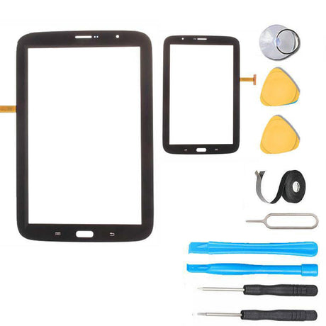 Samsung Galaxy Note 8.0 Tablet Glass and Touch Screen Digitizer Replacement Premium Repair Kit N5110- Black