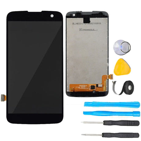 LG K4 (2016) Screen Replacement + LCD + Touch Digitizer Premium Repair Kit K120 k120E - Black