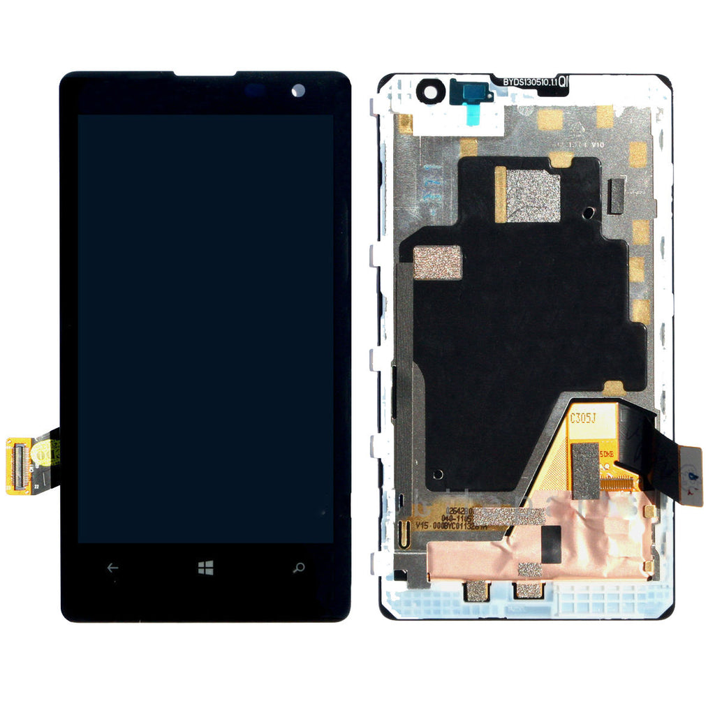Nokia Lumia 1020 LCD Screen Replacement + Frame + Digitizer Premium Repair Kit N1020