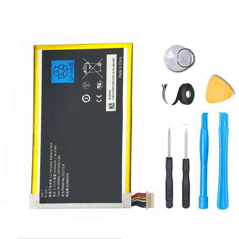 Amazon Kindle Fire HD 7 3rd Gen Battery Replacement P48WVB4 26S1005  58-000055 Kit