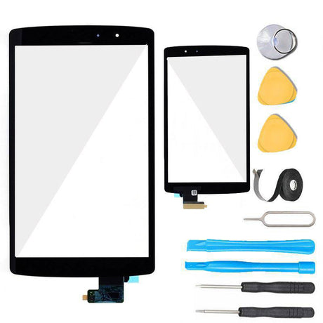 LG G Pad X 8.3 Screen Replacement Glass +Touch Digitizer Premium Repair Kit VK-815 VK815- Black