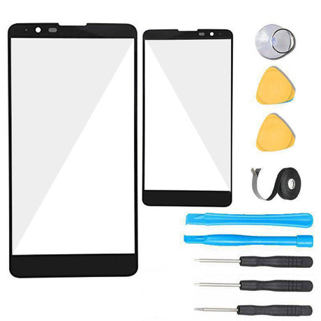 LG G Stylo 2 V Glass Screen Replacement Premium Repair Kit Verizon VS835 - Black