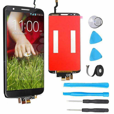 LG G2 Screen Replacement + LCD + Touch  Digitizer Premium Repair Kit  - Black