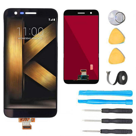LG K20 Plus Screen Replacement LCD Digitizer Premium Repair Kit VS501 TP260 MP260   - Black