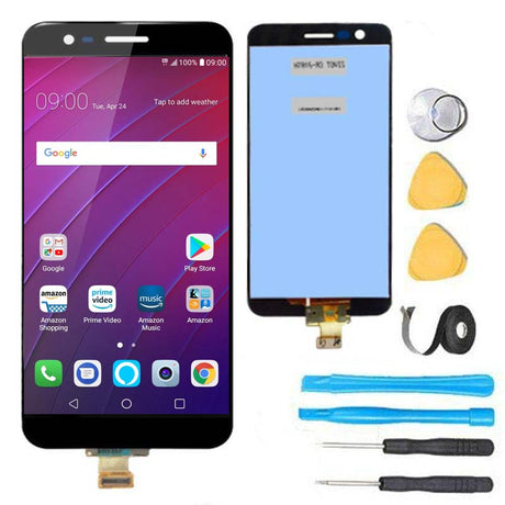 LG K30 Screen Replacement + LCD + Touch Digitizer Premium Repair Kit LMX410 LMX410PM LMX410TK -Black