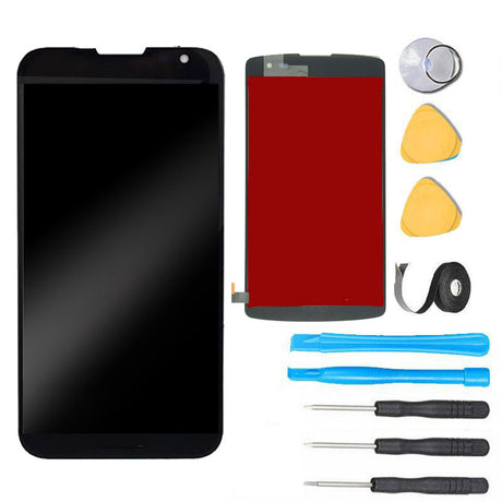 LG Optimus F60 LCD Screen Replacement + Touch Digitizer F60 F60S MS395 - Black