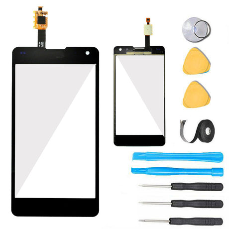 LG Optimus G Glass Screen Replacement + Touch Digitizer Premium Repair Kit LTE E975 E977 F180 LS970 E973   - Black