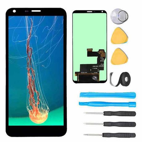 LG Q6 Plus Screen Replacement LCD + Touch Digitizer Premium Repair Kit M703 M700A US700