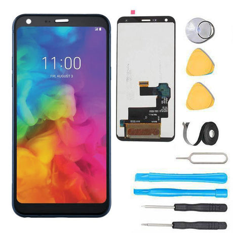 LG Q7 Plus Screen Replacement LCD + Digitizer Replacement Premium Repair Kit Q610 Q725