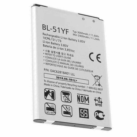 LG Stylo Battery Replacement 2900mAh