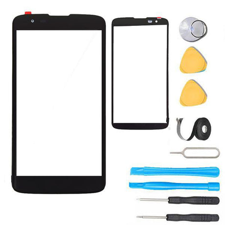 LG Tribute 2 Glass Screen Replacement Premium Repair Kit LS665  - Black