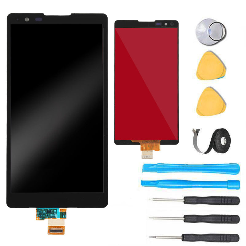 LG X Power Screen Replacement LCD + Touch Digitizer Repair Kit X3 K210  K220DS LS755 K610 K6P US610 K450 - Black