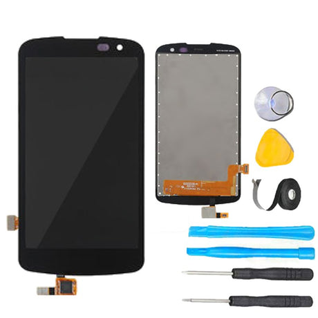 LG K3 Screen Replacement parts plus tools