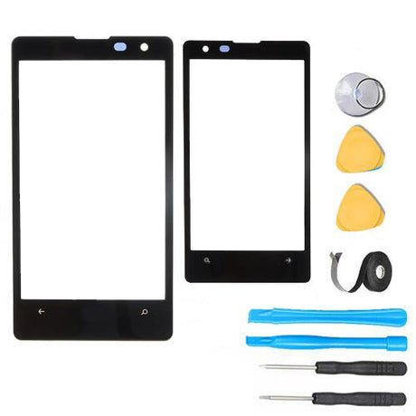 Nokia Lumia 1020 Glass Screen Replacement Premium Repair Kit N1020 - Black