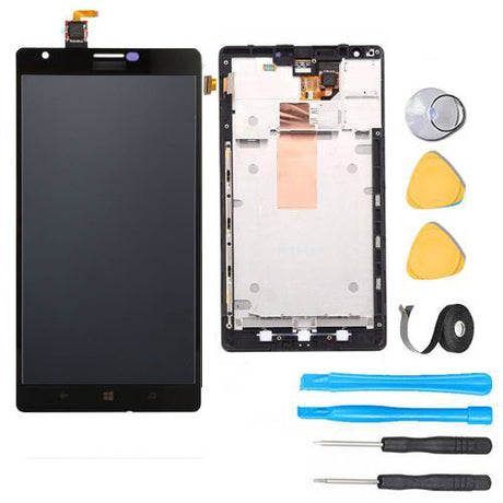 Nokia Lumia 1520 LCD Screen Replacement + Frame + Digitizer Premium Repair Kit N1520