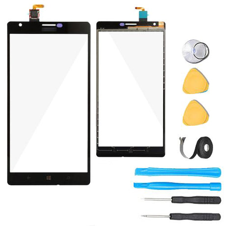 Nokia Lumia 1520 Glass Screen + Touch Digitizer Replacement Premium Repair Kit