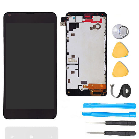 Nokia Lumia 640 LCD Screen Replacement + Frame + Digitizer Premium Repair Kit