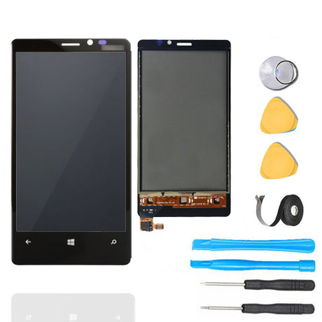 Nokia Lumia 920 LCD Screen Replacement + Frame + Digitizer Premium Repair Kit