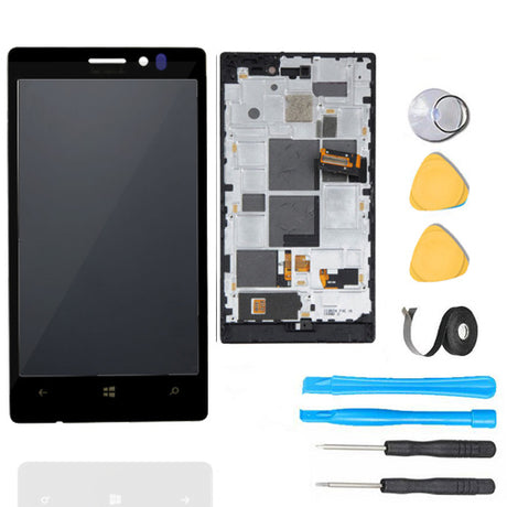 Nokia Lumia 928 LCD Screen Replacement + Digitizer Premium Repair Kit