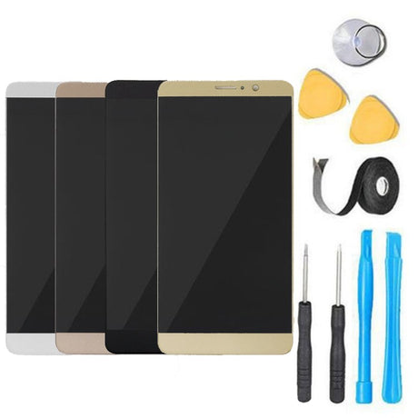 Huawei Mate 9 Glass Screen Replacement LCD Screen Digitizer Frame Premium Repair Kit - Black, Gold, Brown, White
