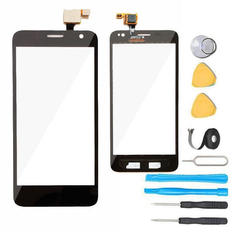 Alcatel One Touch Idol Mini Glass Screen Replacement +  Digitizer Premium Repair Kit - Black