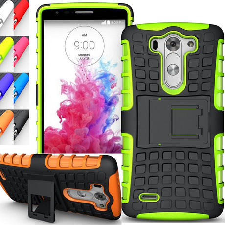Rugged Armor Protective Hard Case Cover - LG G3 Mini | LG G3 Beat | LG G3 Vigor | LG G3 S D725