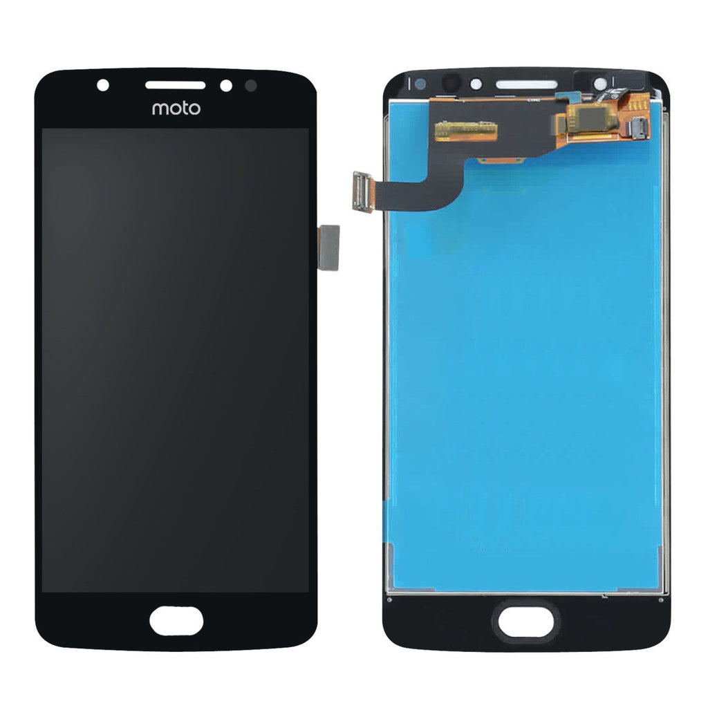 Motorola Moto E4 Plus Screen Replacement LCD Digitizer Premium Repair Kit E 4th XT1774 XT1775 XT1776 - Black or Gold