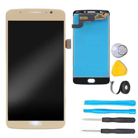 moto e4 screen replacement lcd gold plus tools