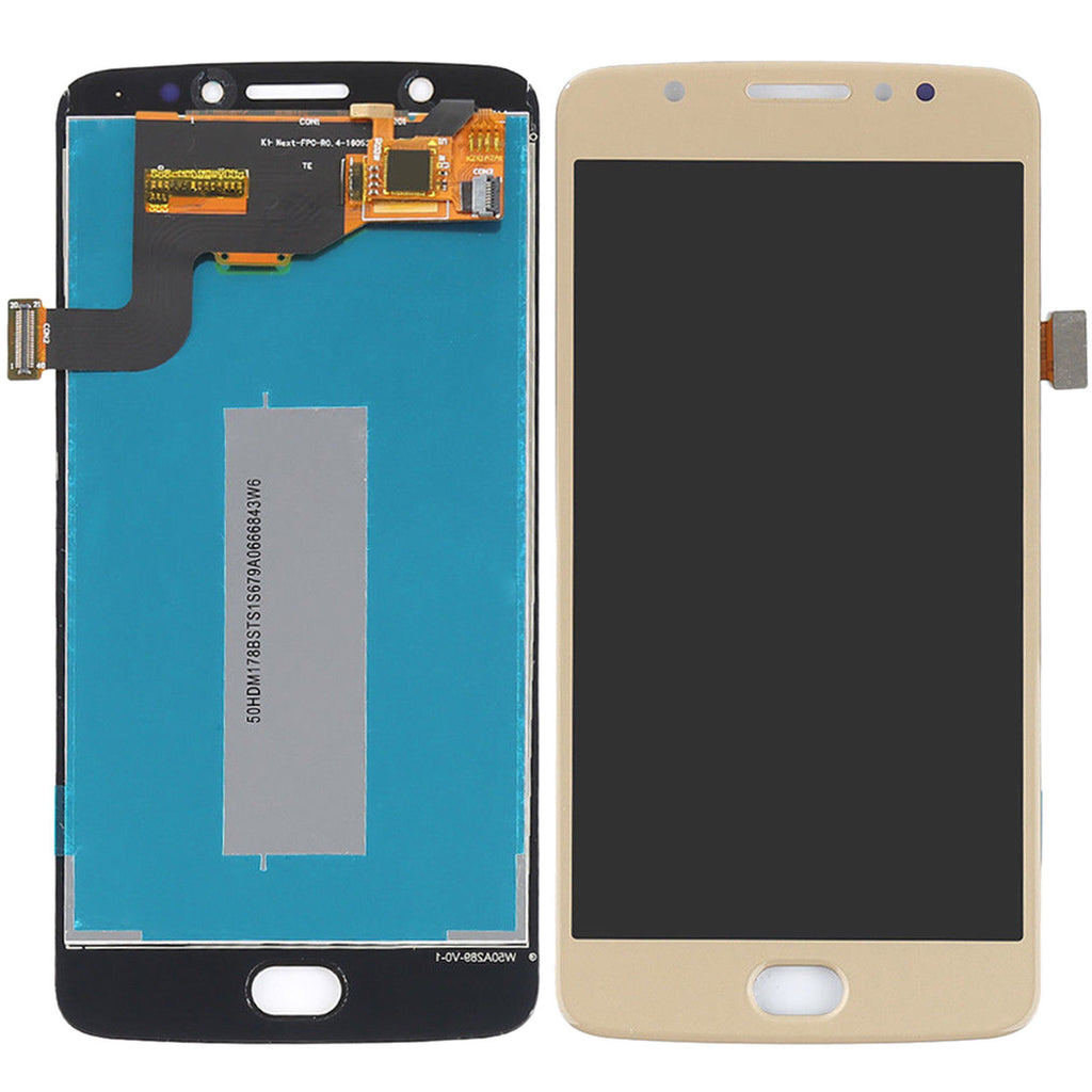 Motorola Moto E4 Screen Replacement LCD Digitizer Repair Kit E 4th Gen - Black or Gold
