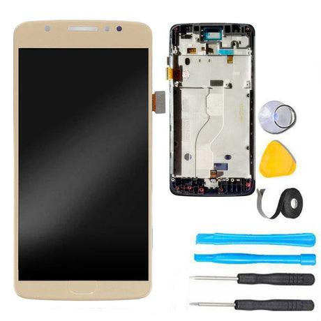 moto e4 screen replacement with frame