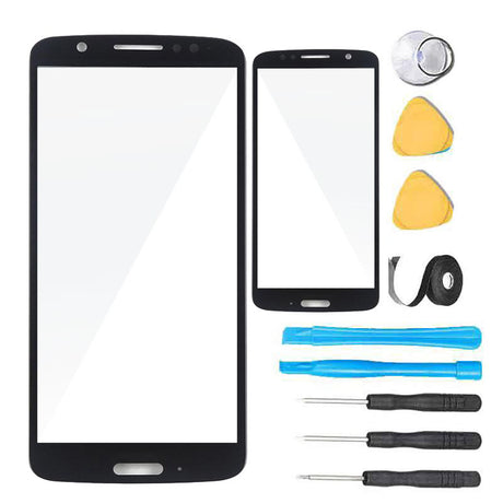 Motorola Moto G6 Glass Screen Replacement Premium Repair Kit XT1925  - Black