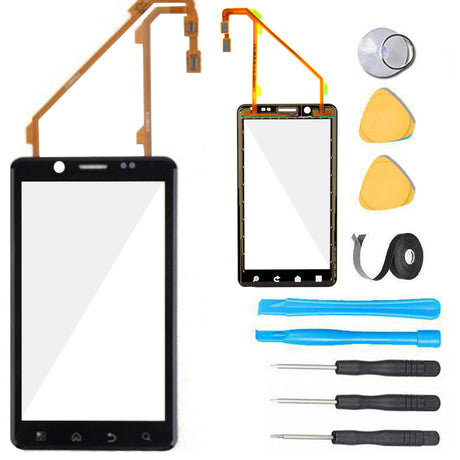 Droid Bionic Glass Screen Replacement parts plus tools