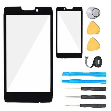 Droid Razr Maxx HD Glass Screen Replacement parts and tools
