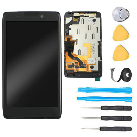 Droid Razr Maxx HD Screen Replacement LCD parts and tools