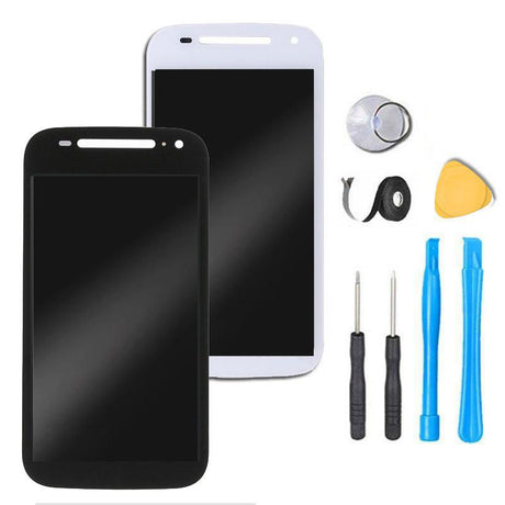 Moto E 2nd Gen Screen Replacement + LCD + Digitizer Premium Repair Kit Motorola E 2nd Gen - Black or White