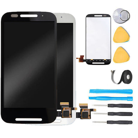 Moto E (1st Gen) Screen Replacement LCD parts plus tools