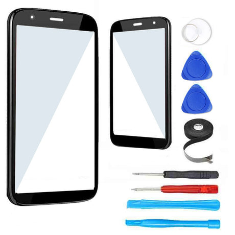 Motorola Moto G (1st Gen) Glass Screen Replacement Premium Repair Kit XT1031 XT1028 - Black