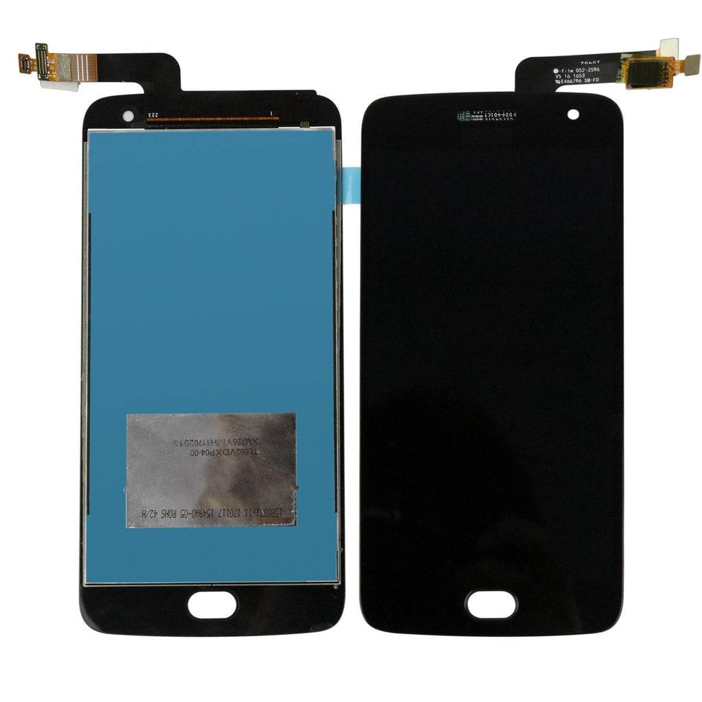 Moto G5 Plus Screen Replacement + LCD + Touch Digitizer Premium Repair Kit - Black