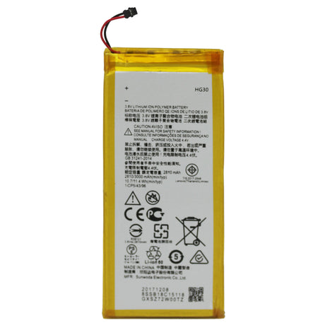 Motorola Moto G6 Battery Battery Replacement XT1925