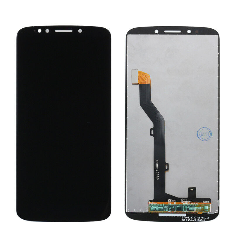 Motorola Moto G6 FORGE Screen Replacement LCD Glass Touch Digitizer Premium Repair Kit - Black Gold