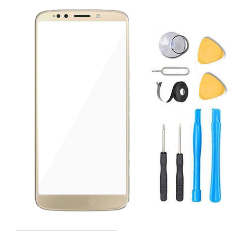 Moto G6 Play Glass Screen Replacement Premium Repair Kit XT1922  - Gold