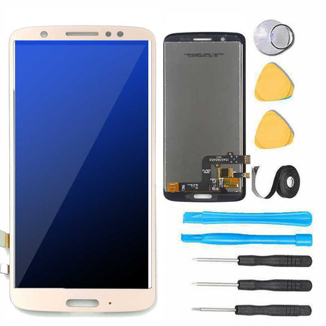 Motorola Moto G6 Screen Replacement LCD Repair Kit XT1925 - Gold