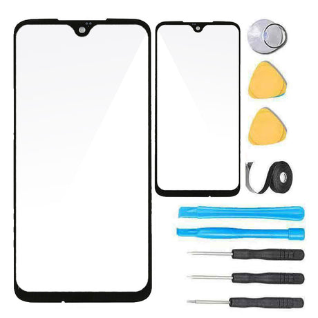 Motorola moto g7 screen replacement glass with tools