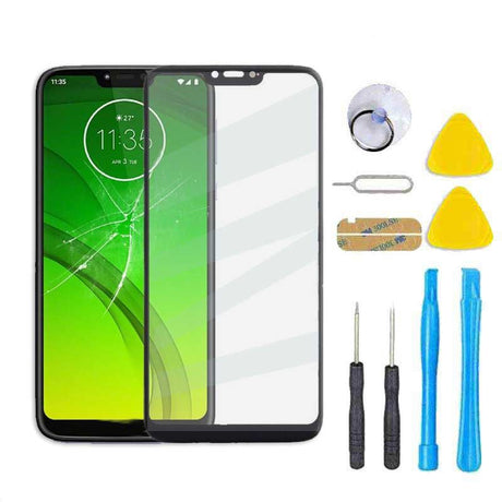 Motorola Moto G7 Power Glass Screen Replacement Kit XT1955-6 - Black