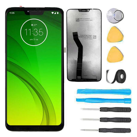 Motorola Moto G7 Supra screen replacement kit with tools