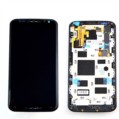 Moto x 2nd Gen Screen Replacement Glass and Digitizer Premium Repair Kit  - Black