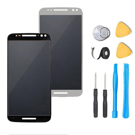 Motorola Moto X Pure Edition / Style Screen Replacement + LCD + Touch Digitizer Premium Repair Kit XT1635 | XT1570 | XT1572 | XT1575 - Black or White