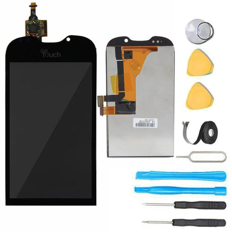 HTC MyTouch 4G LCD Screen Replacement + Digitizer + Frame Display Premium Repair Kit - Black