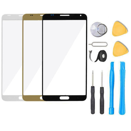 Samsung Galaxy Note 5 Glass Screen Replacement Premium Repair Kit N920 - Black White Gold